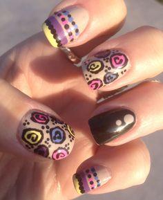 Pastel Floral Nail Art!