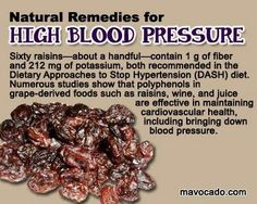 Natural remedies for high blood pressure