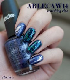Ablecaw14, Deborah Lippmann Across the Universe, OPI ink suede