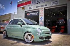 Fiat 500 ~ So cute! ;)