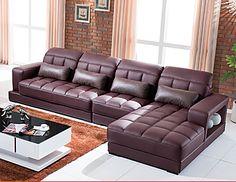 Коричневый кожаный угловой диван купить в интернет-магазине https://lafred.ru/catalog/catalog/detail/45518344280/