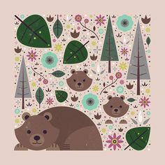 Carly Watts Art & Illustration: Wild Bears