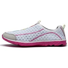 Women's Water Shoes Outdoor Beach Aqua Casual Mesh Sneakers * Visit the image link more details. (This is an affiliate link) #Shoes