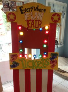 ticket booth everywhere fun fair vbs 2013