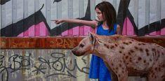 Painting For Kids, Artist Painting, Colossal Art, Realistic Paintings, Mark Rothko, Over The Rainbow, Medium Art, Giraffe, Street Art