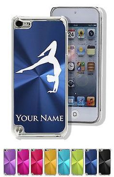 Personalized Custom Case for iPod Touch 5/6 - GYMNAST WOMAN, GYMNASTICS GIRL GYM - Tap the pin if you love super heroes too! Cause guess what? you will LOVE these super hero fitness shirts!