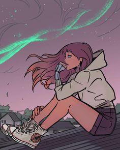 Trouble in mind  #starfire #teentitans #art #sneakers