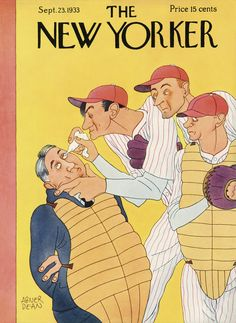The New Yorker - Saturday, September 23, 1933 - Issue # 449 - Vol. 9 - N° 32 - Cover by : Abner Dean