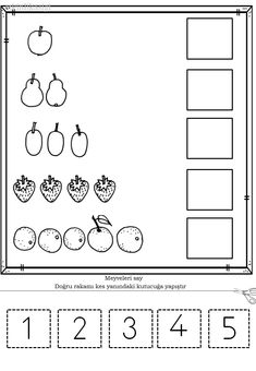 Preschool At Home, Preschool Worksheets, Preschool Learning, Math Addition Worksheets, Montessori Math, Kids Study, Simple Math, Tot School, Math For Kids