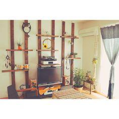 ディアウォール/観葉植物/ハンドメイド/DIY/ディスプレイ棚/ディスプレイ棚DIY…などのインテリア実例 - 2015-06-01 11:50:57 | RoomClip(ルームクリップ)