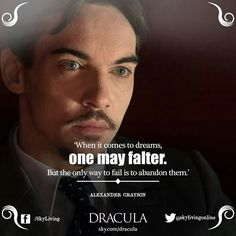 Dracula...falling in love with this show