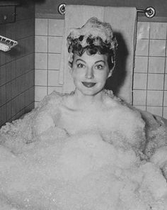 0 Bath Time Ava Gardner Enjoying A Bubble In Scene From One Touch Of Venus 1