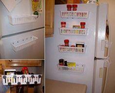 Guadagnare spazio in cucina: Ecco 20 trucchi e accessori salvaspazio per una piccola cucina! Lasciatevi ispirare... Guadagnare spazio incucina. Lo spazio è indispensabile nella propria casa e soprattutto in cucina. Quando si ha poco spazio a...