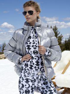 Fine luxury ski clothing, high-end apparel, ski wear and cashmere sweaters for the luxurious mountain lifestyle at Gorsuch Nylons, Ski Bunnies, Bunny, Dna Model, Raincoat Jacket, Shady Lady, Ski Wear, Ski Season, Puffy Jacket