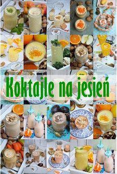 Moja smaczna kuchnia: Koktajle na jesień Smoothies, Bento, Meal Prep, Drinking, Recipies, Food And Drink, Health Fitness, Cocktails, Meals