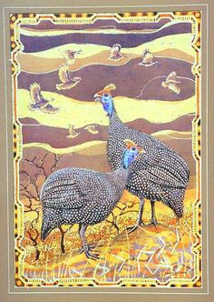 guinea fowl painting - Yahoo Image Search Results