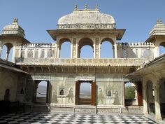 India. Udiphor, Rajasthan. The City Palace