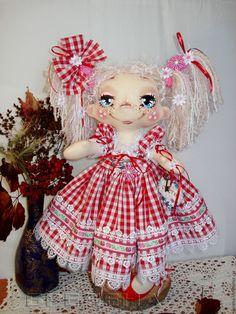 Купить Текстильная Кукла на Счастье. Розочка2. - интерьерная кукла, красивая кукла, купить текстильную куклу