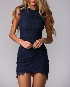 Charming Slim-Line Homecoming Dress,Lace Sexy Homecoming Dress, Short Noble Blue Homecoming Dress