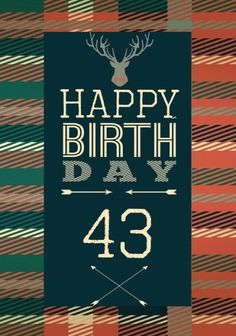 Happy Birthday 43: Birthday Gifts For Men, Birthday Journal Notebook For 43 Year Old For Journaling