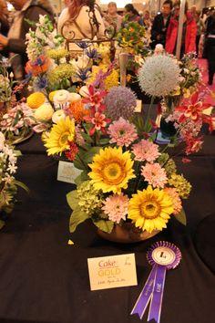 Fotos de CakeMag.es del concurso de flores de de la feria Cake International Birmingham