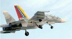 Venezuela: Ela possui uma Força Aérea composta por F 16 Falcon e Su 30, a Venezuela pretende comprar mais um lote com 16 Su 30.  https://aviacaocivilemilitar.wordpress.com/tag/forca-aerea-chilena/