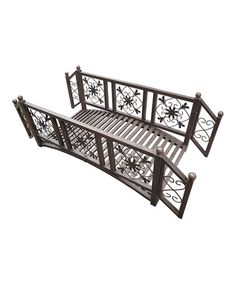Antique Bronze Garden Bridge