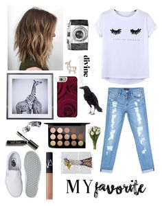 """""""My Fav thing about me.. ( In description)"""" by g-is-a-giraffe ❤ liked on Polyvore featuring Bebe, Vans, Chicnova Fashion, Casetify, Bobbi Brown Cosmetics, NARS Cosmetics, MAC Cosmetics, FabFunky and myfavorite"""