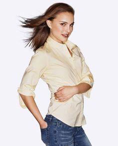 Natalie Portman modeling for Kamiseta, a Filipino owned clothing company (2003-2004) From natalieportman.com