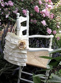 My *PINK* Life: Ruffled Tote Bag