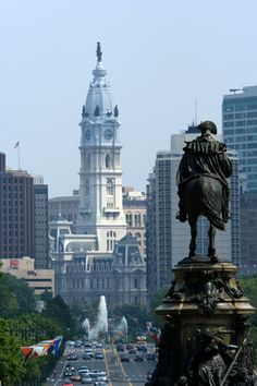 Philadelphia City Hall- favorite view of the city :)