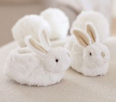 Bunny Slippers | Pottery Barn Kids   These are ridiculous. I have to have them.