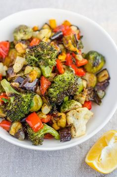 I am a firm believer in the power of a roasted vegetable. Not only can virtually every vegetable be cooked in this way — no recipe required — but roasted vegetables are universally pleasurable to eat. Have a picky eater in the house? Want a break from your usual steamed veggie side dish? Try roasting your broccoli or green beans or cauliflower tonight. I think you're in for a treat.