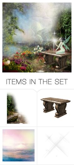 """""""Fairy Garden"""" by lazer-blade ❤ liked on Polyvore featuring art"""
