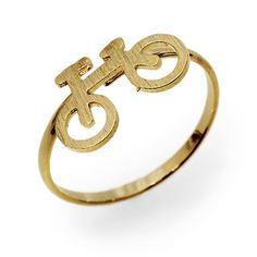 Mini Bicycle Ring - Gold   Fahsye Fashion Accessories Boutique