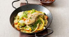 Escalope de volaille au curry en toute légèreté