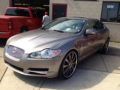 "2009 Jaguar XF on 22"" Forgiato Wheels by South Side Vic's Kustoms in Chicago IL . Click to view more photos and mod info."