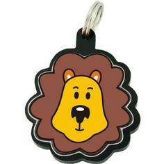 Placa de Identificação Acrílica Leão na AZ PetShop