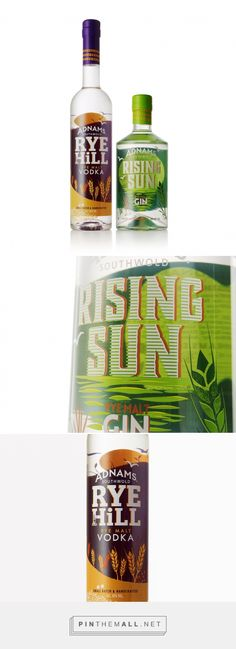 Adnams - Rye Spirits - Packaging of the World - Creative Package Design Gallery - http://www.packagingoftheworld.com/2017/05/adnams-rye-spirits.html