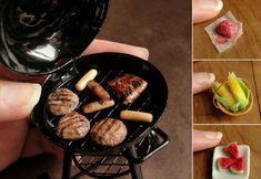 O Scale Quarter Scale Arttista//Dollhouse Miniature BBQ Grill 1:48