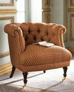 Love this funky little chair. Love it.