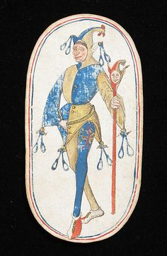 Playing Card with a Knave (from a set of fifty-two playing cards)