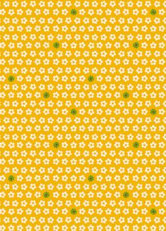 Anthology Fabrics - Khristian A Howell - The Woodlands - Pop Flowers in Yellow