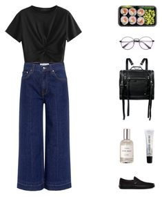 ; last cigarette by madmims on Polyvore featuring polyvore fashion style 10 Crosby Derek Lam Vans McQ by Alexander McQueen Bobbi Brown Cosmetics clothing