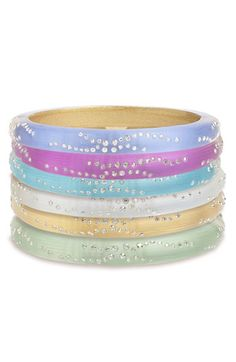 Alexis Bittar 'Lucite® - Dust' Small Hinged Bracelet (Nordstrom Exclusive) available at #Nordstrom
