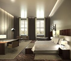 Render interiorismo hotel