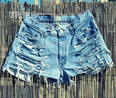 Unraveled etsy shop, high waisted shorts :)