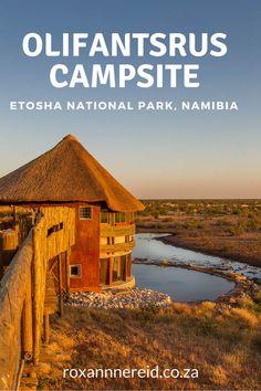 Olifantsrus campsite, Etosha, Namibia #Etosha #Namibia #camping