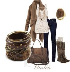 Fall is in the air kids:) The Frye bag and boots need to just magically appear in my closet:)