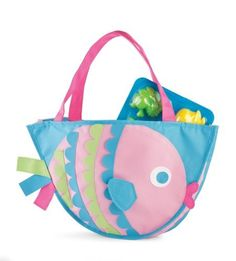#MudPie Surf's Up Fish Beach #Bag with Toys  Price : $23.99 http://www.whimsicalumbrella.com/Surfs-Up-Fish-Beach-Toys/dp/B00BCXOFU0 #whimsicalumbrella